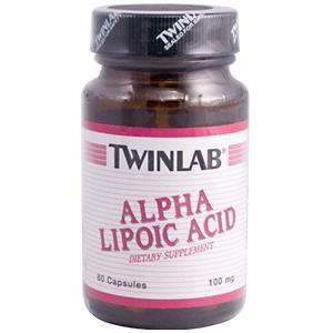 Alpha Lipoic Acid (100 mg - 60 capsules) TwinLab