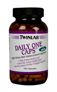 Daily One Caps With Iron (180 ct) TwinLab