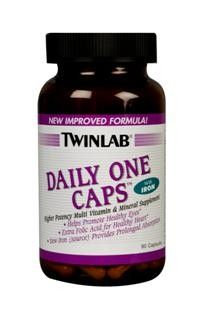 Daily One Caps With Iron (90 count) TwinLab