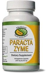 ParactaZyme (90 caps) Medicinal Nutraceutics