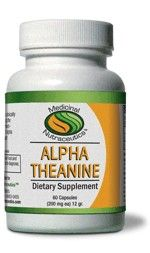 Alpha Theanine (60 caps) Medicinal Nutraceutics