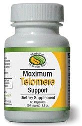 Maximum Telomere Support (30 caps) Medicinal Nutraceutics