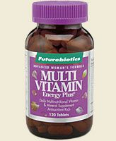 Multi Vitamin Energy Plus for Women   (120 tabs) Futurebiotics