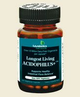 Longest Living Acidophilus plus  (100 capsules) Futurebiotics