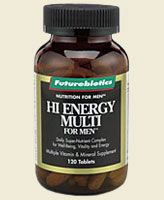 Hi Energy Multi for Men (120 tabs) Futurebiotics