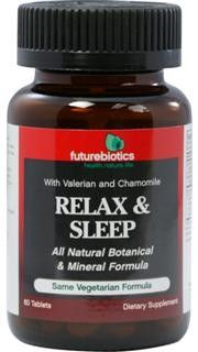 Relax & Sleep Formula 2 (60 tabs) Futurebiotics
