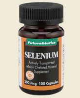Albion Chelated Selenium 200 mcg (100 capsules) Futurebiotics