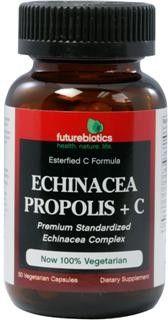 Echinacea Propolis & Ester C (50 caps) Futurebiotics
