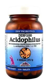 DDS Acidophilus Tabs (100 tablets) UAS Labs