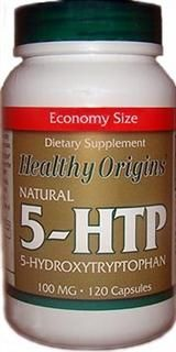 Natural 5-HTP 100mg (120 capsules) Healthy Origins