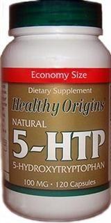 Natural 5-HTP 100mg (120 capsules) Healthy Origins