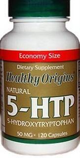 Natural 5-HTP 50mg (120 capsules) Healthy Origins