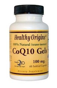 CoQ10 Gels 100mg (60 Gelcaps) Healthy Origins