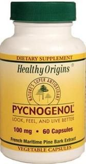 Pycnogenol 100mg (60 vcaps) Healthy Origins