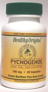 Pycnogenol 100mg (30 vcaps) Healthy Origins