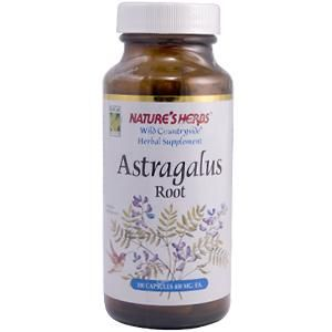 Astragalus Root (100 Caps) Nature's Herbs