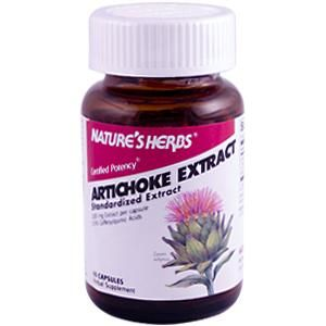 Artichoke Extract (60 Caps) Nature's Herbs