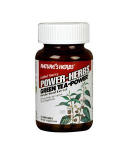 Green Tea Power (60 Caps) Nature's Herbs