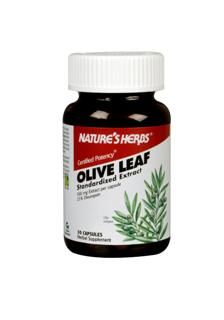 Olive Leaf-Extract (30 Caps) Nature's Herbs