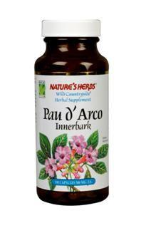 Pau D'arco Inner Bark (100 Caps) Nature's Herbs