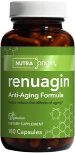 Renuagin | Anti-Aging Formula (180 caps)* NutraOrigin