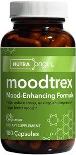 Moodtrex | Mood-Enhancing Formula (180 caps)* NutraOrigin