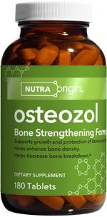 Osteozol | Bone Strength Formula (180 caps)* NutraOrigin