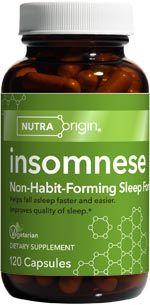 Insomnese | Sleep Supplement (120 caps)* NutraOrigin