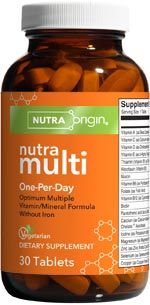 NutraMulti | One Per Day (30 tabs)* NutraOrigin