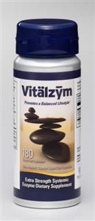 Vitalzym Extra Strength Systemic Enzyme Supplement (180 gelcaps)* World Nutrition