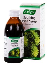 Santasapina Soothing Pine Cough Syrup  (6.8 oz) A Vogel