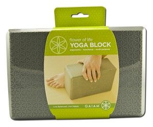 Yoga Block | Flower of Life Gaiam Yoga