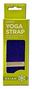 Yoga Strap 6 ft (Purple)              Gaiam Yoga