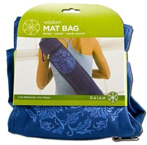 Wisdom Yoga Mat Bag Gaiam Yoga