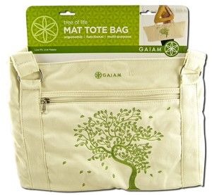 Tree of Life Yoga Mat Tote Bag Gaiam Yoga