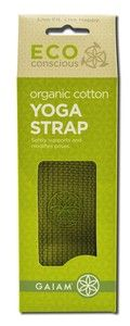Cotton Yoga Strap (Sage - 6 ft.) Gaiam Yoga