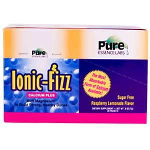 Ionic-Fizz Calcium Plus (30 Packet-Box)* Pure Essence Labs