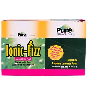 Ionic-Fizz Magnesium Plus (30 Packet-Box )* Pure Essence Labs