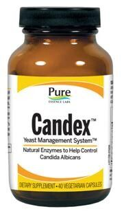 Candex Yeast Management System (40 caps)* Pure Essence Labs
