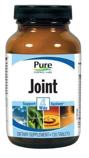 Joint - 4 Way Support System (120 tabs)* Pure Essence Labs