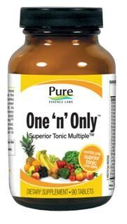One 'n' Only  Superior Tonic Multiple (90 tabs)* Pure Essence Labs