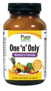 One & Only Womens Formula (30 tabs)* Pure Essence Labs