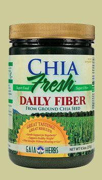 Chia Fresh Daily Fiber (7.5 oz)* GAIA Herbs