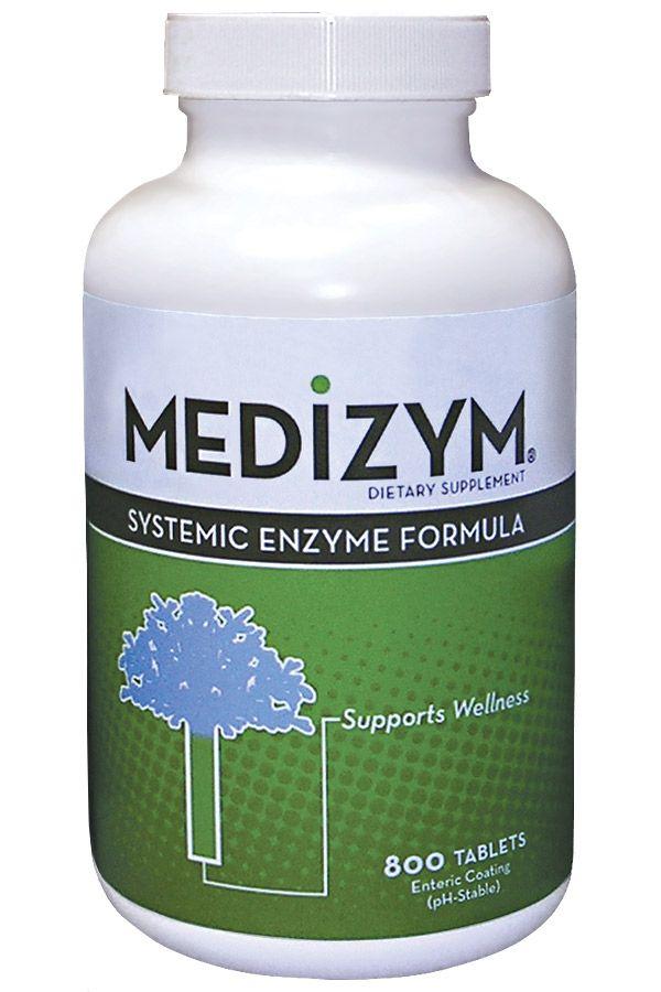 Medizym (800 Tab) Naturally Vitamins
