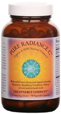 Pure Radiance Vitamin C (90 veg caps, 650 mg each) The Synergy Company