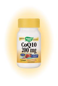 CoQ10 200 mg (30 Gels) Nature's Way