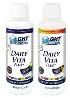 Daily Vita Plus* - Vegetarian (1 Pint) Global Health Trax