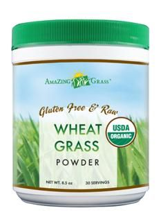 Organic Wheat Grass Powder (30 Servings 8.5 oz) Amazing Grass