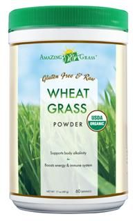 Organic Wheat Grass Powder (60 servings 17 oz) Amazing Grass