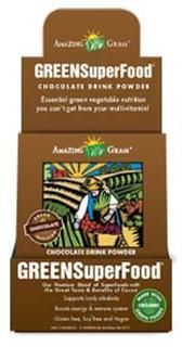 Chocolate Green SuperFood Energy Packets (15 packets) Amazing Grass
